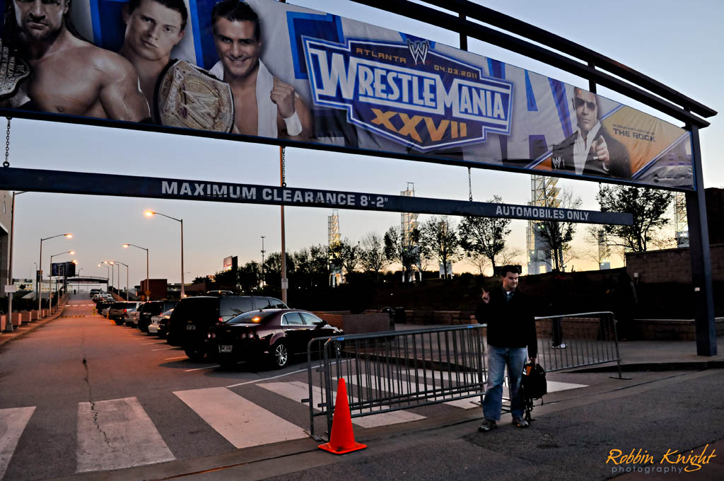 Wrestlemania in Atlanta, GA