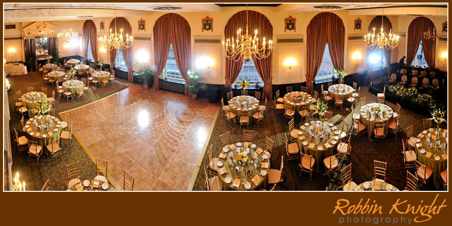 Francis Marion Hotel Pano Ballroom Pic