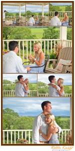Folly Beach surprise proposal / charleston engagement shoot