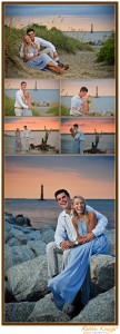 charleston engagement session folly beach charleston, sc